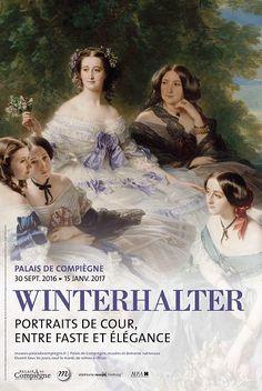 Winterhalter, Portraits de cour, entre faste et élégance   Musées et domaine…