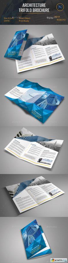 Architecture Trifold Brochure