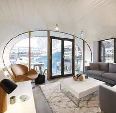Sustainable ARC home with interior design by BoConcept