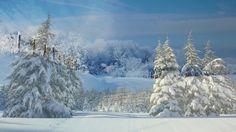 Krásná Relaxační Hudba, Ohromující sníh, hory, krajiny, spánek a Relaxač...