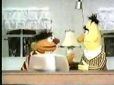 Classic Sesame Street - Ernie and Bert on BEFORE and AFTER - YouTube