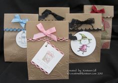 Bags, Bags and more bags by Kirsteen Gill - Cards and Paper Crafts at Splitcoaststampers
