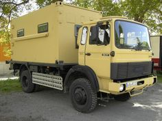1989 Iveco Magirus Cabover AWD Camper