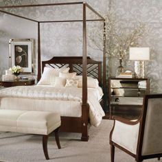 Ethlen Modern Glamour Hayward Bed Ethan Allen Furniture Interior Design