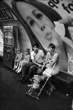 Henri Cartier-Bresson, Paris Métro, France, 1968
