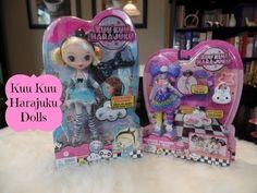Kuu Kuu Harajuku G Doll & Rainbow Unicorn Outfit Unboxing