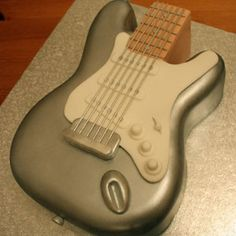 Awesome Cake designs and ideas for that special event Dad Birthday, Birthday Parties, Happy Birthday, Birthday Cake, Party Fun, Party Ideas, Guitar Cake, Cool Pins, Novelty Cakes