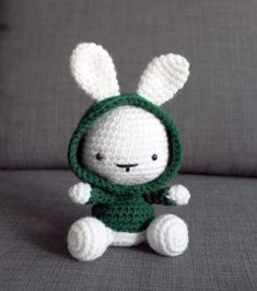 Some Bunny in the Hood Crochet Pattern - Once Upon a Cheerio