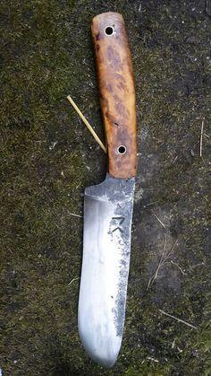 Couteau de camp forgé