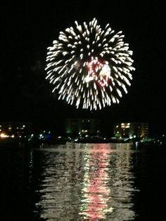 Fireworks over Destin Florida ☆☆☆