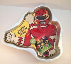 Wilton Power Ranger Cake Pan