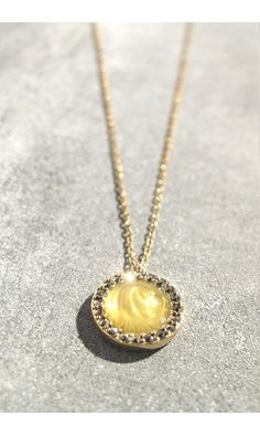 NEW IN -- Feidt collier Madone or jaune/marcassite  #feidt #feidtparis #feidtbijoux #madone #madonna #necklace #collier