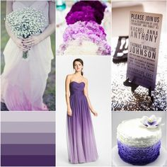 {Wedding Trends} Ombre Wedding Colours and Dresses Ideas 2013 / 2014