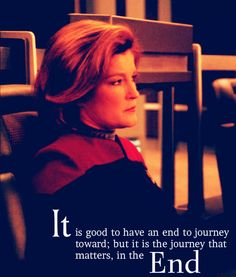 And this is why I choose to ignore the end of 'Voyager', approximately the last half of season seven, coz it was rubbish.