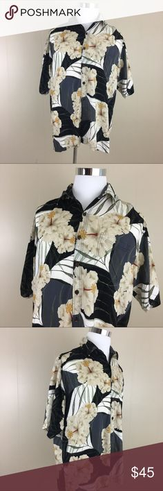 Hibiscus Hawaiian Men's Shirt 100% Rayon XL Brand: Hibiscus Collection Hawaii  Condition: This item is in Good Pre-Owned Condition! There are NO Major Flaws with this item, and is free and clear of any Noticeable Stains, Rips, Tears or Pulls of fabric. Overall This Piece Looks Great and you will love it at a fraction of the price!  Material: 100% Rayon  Size: XL 💥Top Rated Seller 💥Top 10% Sharer 💥Posh Mentor 💥Super Fast Shipping Hibiscus Collection Hawaii Shirts Casual Button Down…