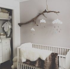 Babyzimmer Einrichten When clouds sneak into our houses Bright decor ideas Home And Decoration When Baby Bedroom, Baby Boy Rooms, Baby Boy Nurseries, Nursery Room, Girl Nursery, Kids Bedroom, Room Baby, Themed Nursery, Bedroom Small