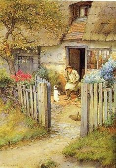 Charles Edward Wilson (1854-1941): The Obediant Dog