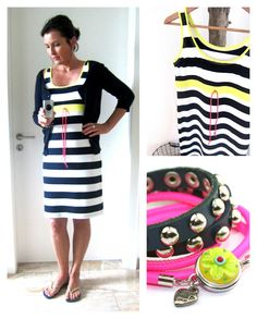 anlukaa glas+faden: Sommerkleid Waist Skirt, High Waisted Skirt, Basic Tank Top, Sewing Projects, Tank Tops, Skirts, Fashion, Fashion Styles, Sew Dress