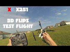 "XK X251 ""WHIRLWIND"" 3D Flips Flight Review"