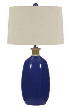 Table lamp charming blue glass lamp navy blue lamp shade lamps people also love these ideas aloadofball Image collections