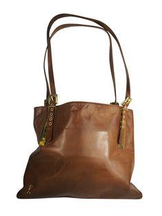 271beee667 Roberta Di Camerino bag vintage shoulder bag leather Brown Bag 1970 's  Luxury collection sac Cuir vintage bolso Shoulder Bag