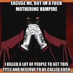 Hellsing Ultimate Abridged quote