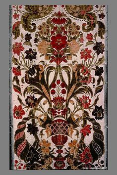 Piece Albergo di Virtù Date: Culture: Italian (Turin) Medium: Silk and…