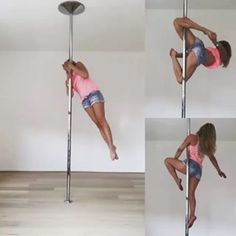 Pole Fitness, Pole Dancing Fitness, Barre Fitness, Fitness Exercises, Boot Camp Workout, Barre Workout, Pole Dance Studio, Pool Dance, Pole Tricks