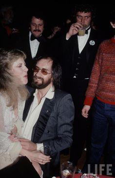 Stevie Nicks with Mick Fleetwood Stevie Nicks Lindsey Buckingham, Soul Mate Love, Stevie Nicks Fleetwood Mac, Concert Posters, Her Music, Great Bands, Our Girl, Blues, Poet