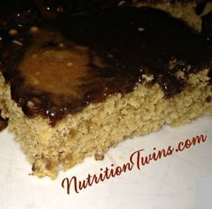 Chewy Ooey Gooey Protein Bars - Nutrition Twins