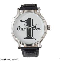 one black relojes de mano
