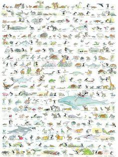 Puzzle animali.  #formiche #puzzle #regalo #animali