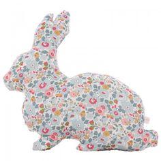 Little Cloud Betsy Liberty Rabbit Cushion | AlexandAlexa