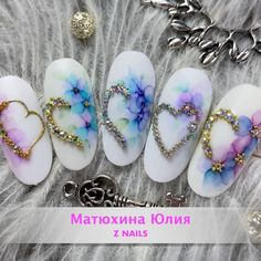 Coffin Nails, Acrylic Nails, Nail Art Wheel, Nail Stencils, Heart Nails, Gel Nail Polish, Love Nails, Nails Inspiration, Hair And Nails