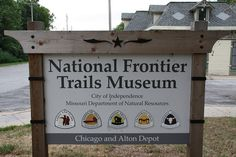 The National Frontier Trails Museum, Independence, Missouri is a museum, interpretative center, and research library dedicated to telling the rich history of America's principle western trails -- the Santa Fe, Oregon and California.