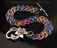 Rainbow Shenanigans by Corvus - Corvus Chainmaille
