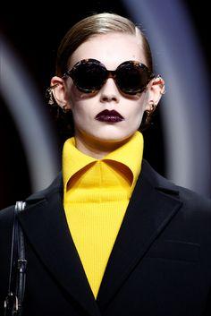 Sfilata Christian Dior Parigi - Collezioni Autunno Inverno 2016-17 - Dettagli - Vogue