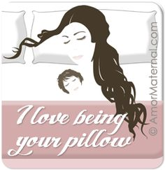 Co-Sleeping advocacy: I love being your pillow.