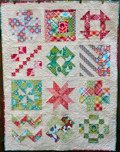 """Bettina Danger: """"Flow Zone"""" Block of the Month: Photos of the Finished Quilt"""
