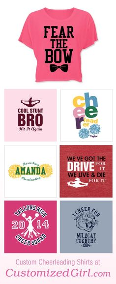 Custom Cheerleading Tees  want almost every thing on this website: