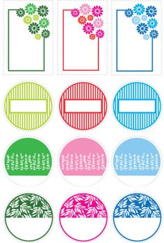 printable canning jar labels