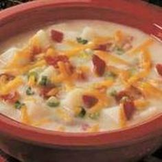 Crockpot Loaded Baked Potato Soup Recipe - ZipList