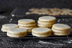 nutmeg maple butter cookies by smitten, via Flickr