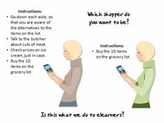 The Rapid E-Learning Blog - give the shopper some freedom