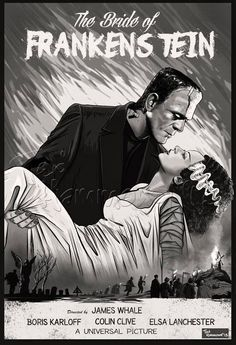 Bride of Frankenstein by Ted Hammond