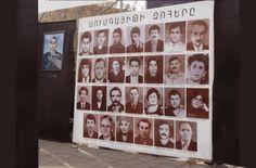 La Cruz Roja estimó que son 4.496 las personas desaparecidas por la guerra en Nagorno Karabaj