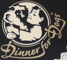 Dinner for Dogs. A cool name for tasty dog food.
