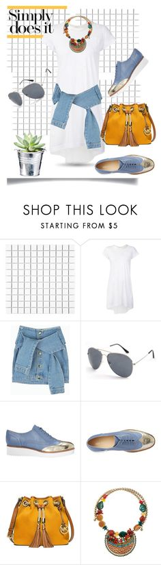 """""""*Simply does it*"""" by sassy-elisa ❤ liked on Polyvore featuring Merola, Sacai Luck, CO, Nine West, MICHAEL Michael Kors and Dr. Macrene Skin Results"""