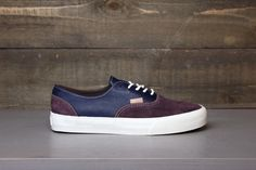 VANS Two Tone Era Decon CA Fall 2012  I think guys should always know how to play with colors.