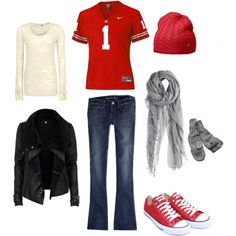 """""""Ohio State Tailgate"""" by jconley14 on Polyvore"""